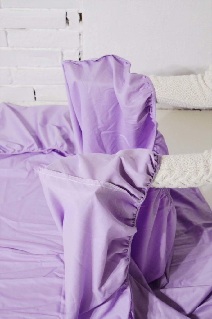 Kummiga voodilina