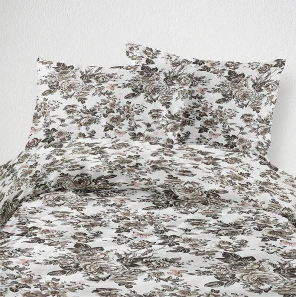 Satiinist voodipesukomplekt