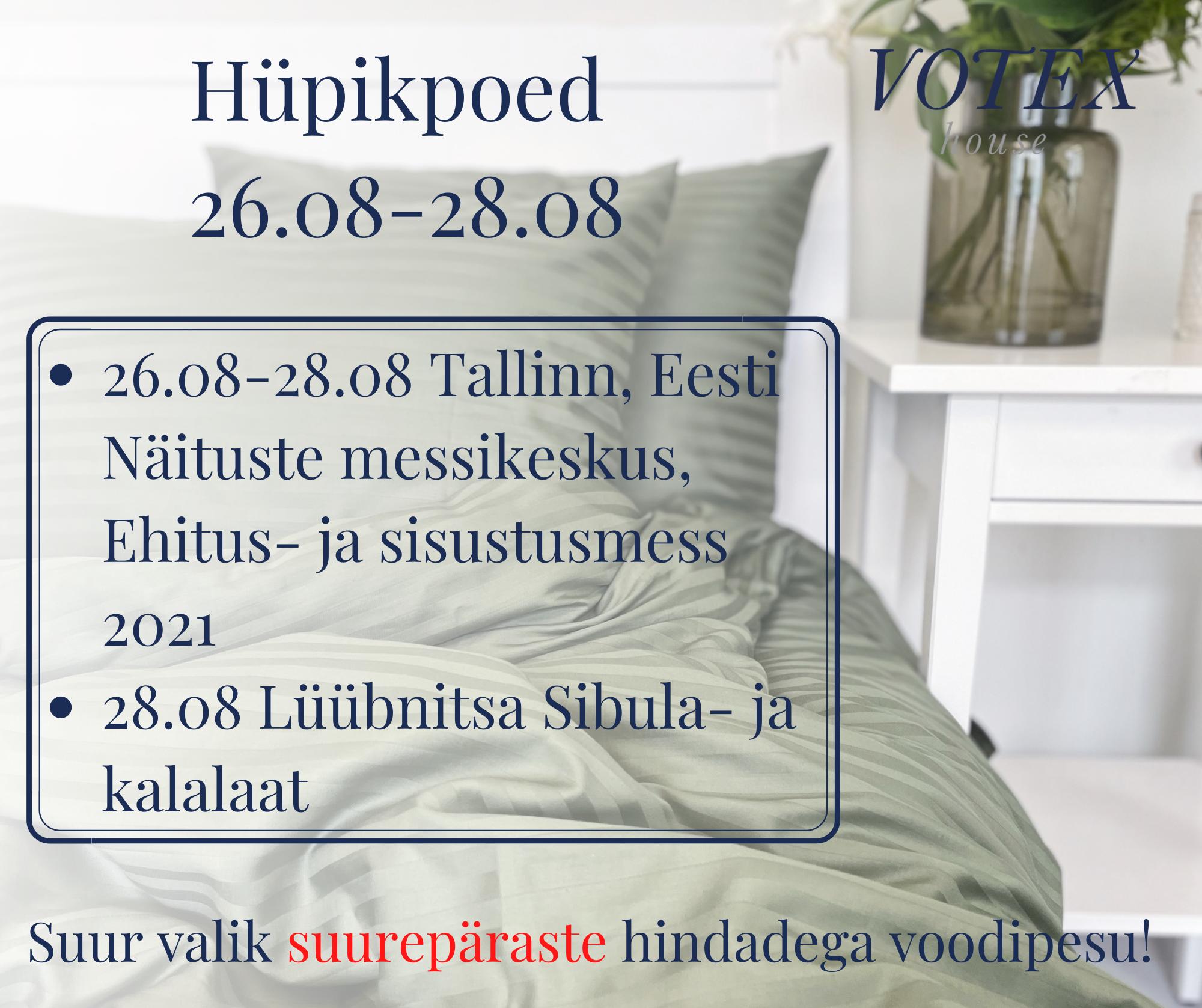 Hüpikpoed 26.08-28.08