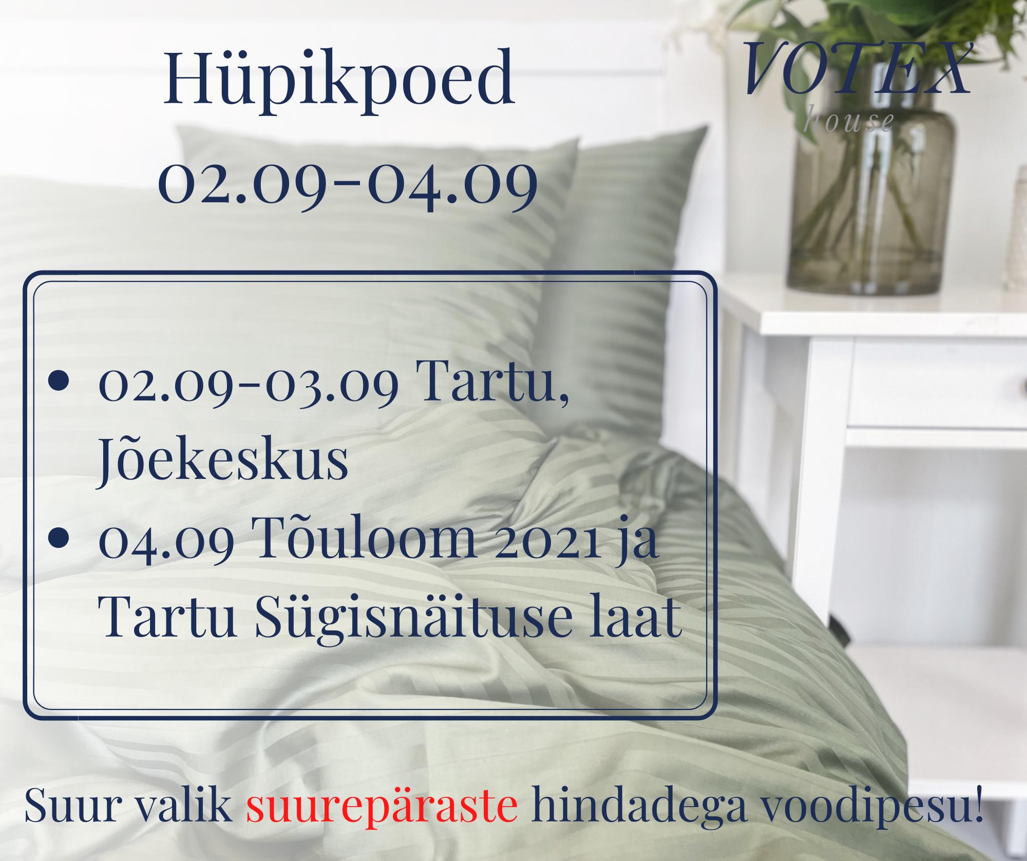 Hüpik-poed 02.09-04.09