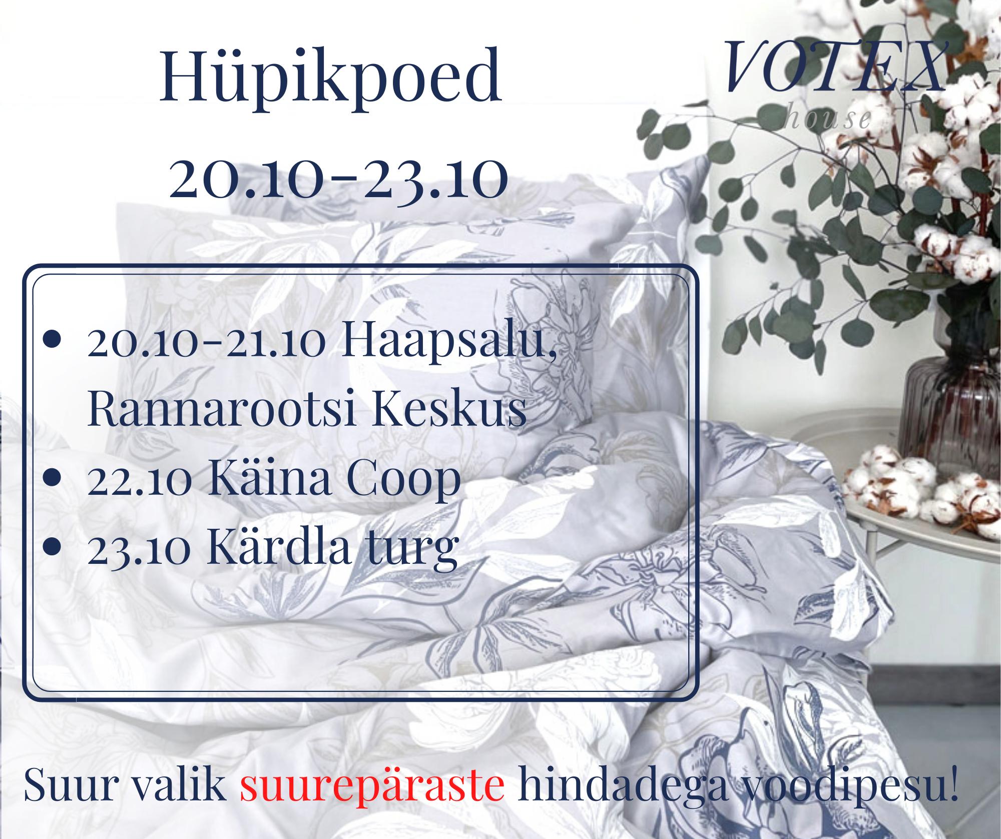 Hüpikpoed 20.10-23.10